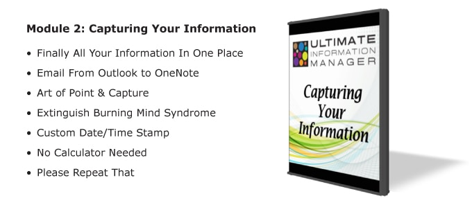 Capturing Your Information
