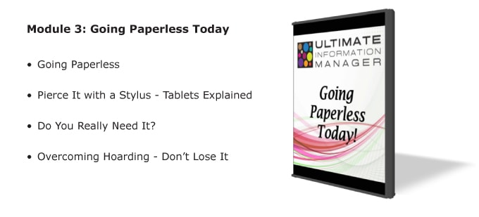 Going Paperless Today