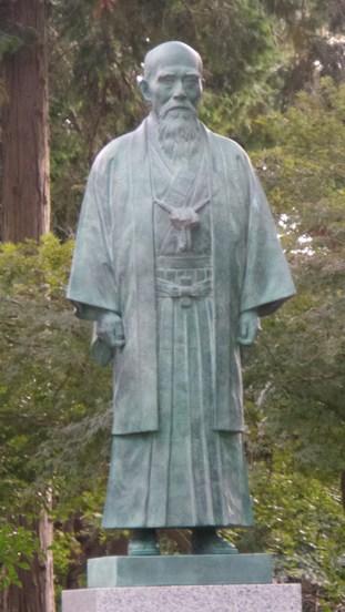 O'Sensei shrine in Iwama
