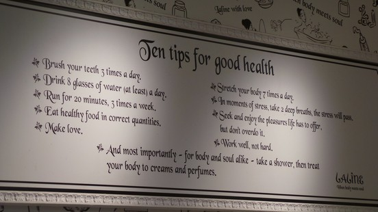Laline Top 10 Tips for Good Health