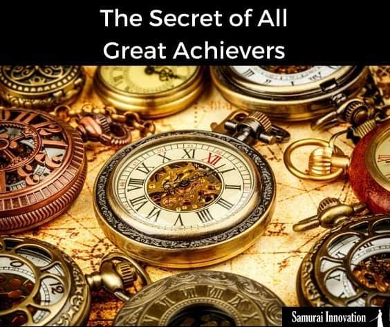 Secret of Great Achievers-Samurai Innovation