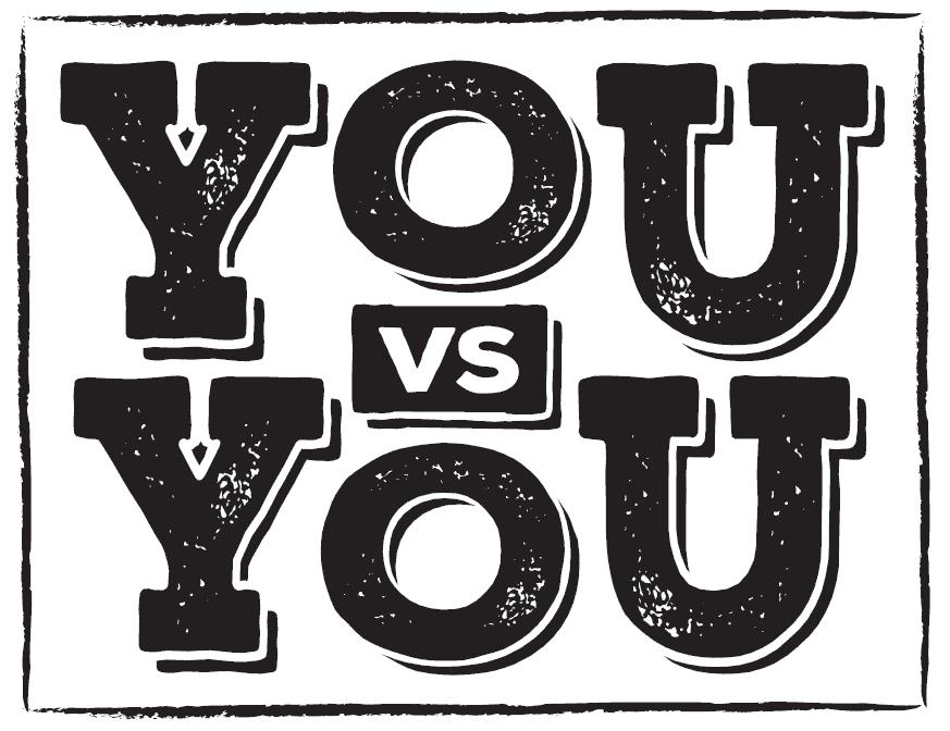 Welcome to You vs You - Samurai Innovation