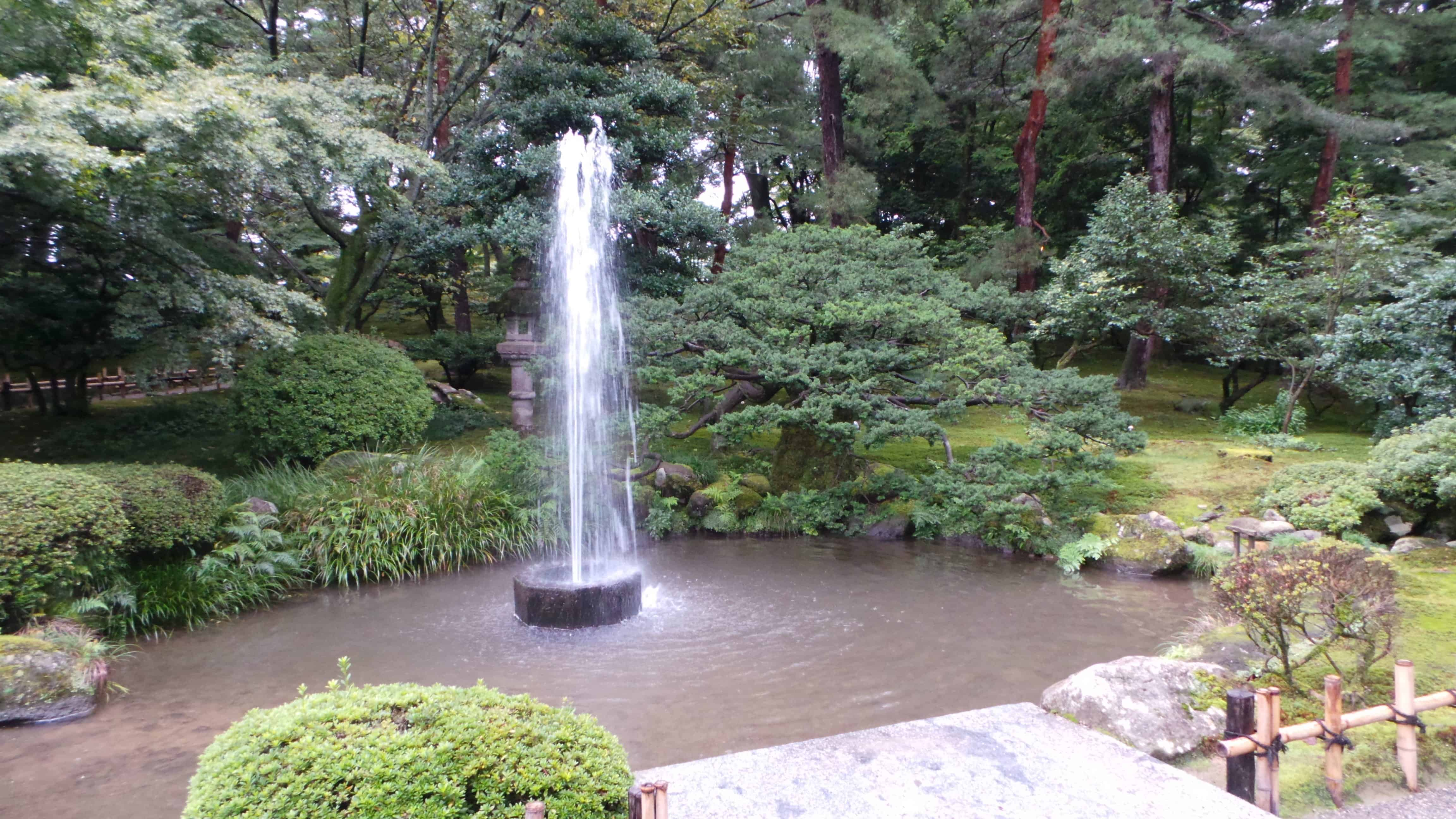 Oldest Natural Powered Fountain in Japan