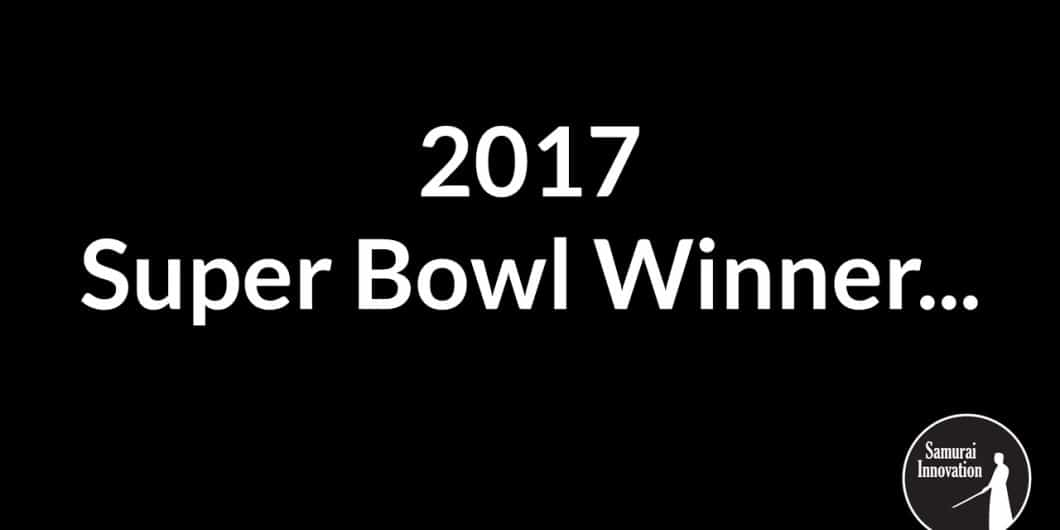 2017 Super Bowl Winner by Samurai Innovation