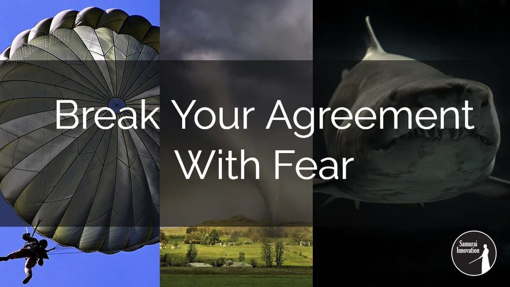 Break Your Agreement with Fear by Samurai Innovation