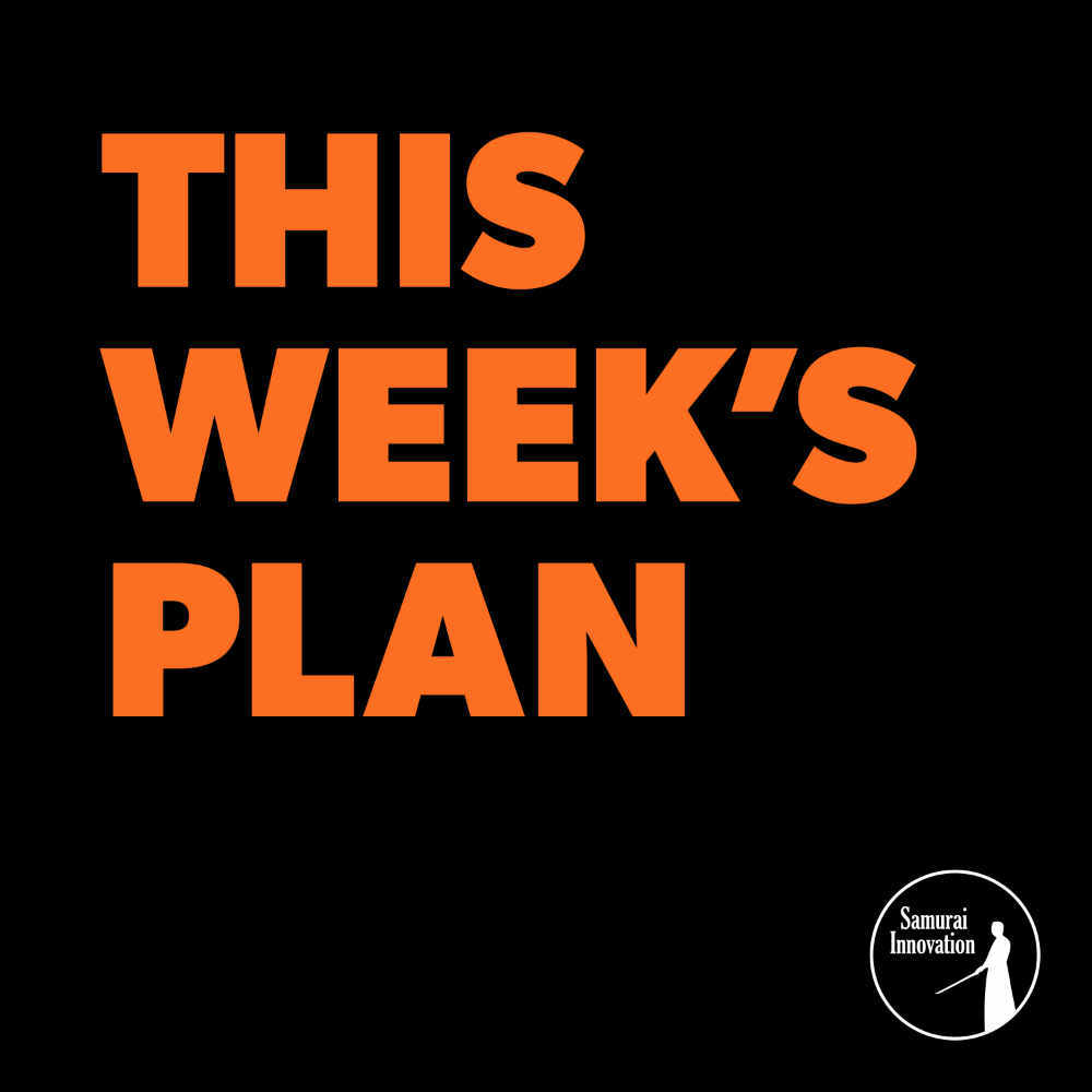 When Should You Do Your Weekly Planning - This Weeks Plan Podcast Show